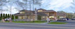 Birch Bay Library Rendering Image