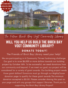 Will you help us build the library?